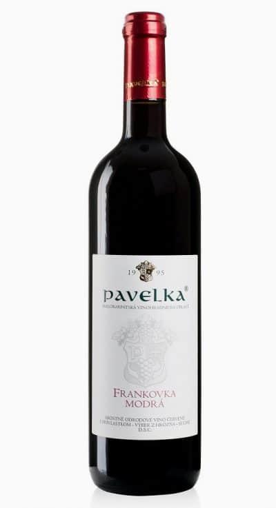 Frankovka modra akostne odrodove vino cervene