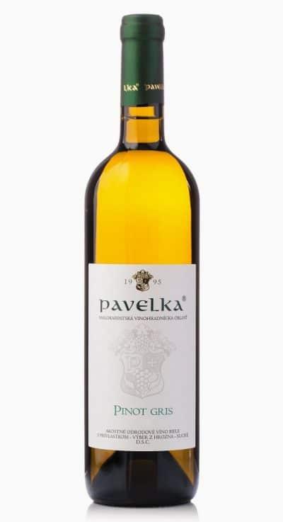pinot gris akostne odrodove vino biele