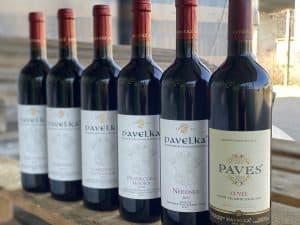 červené vína pavelka